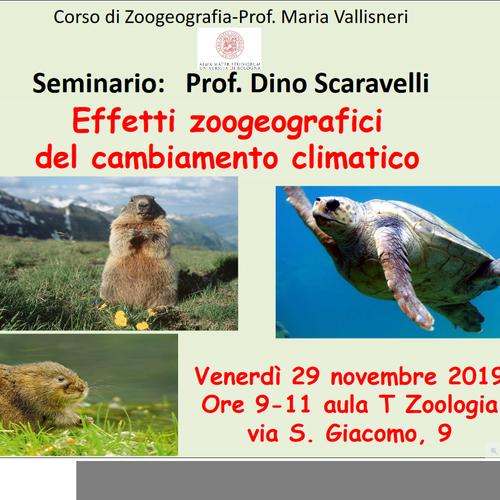 Effetti zoogeografici del cambiamento climatico