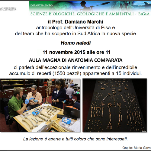 Seminario del Prof. Damiano Marchi