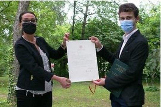 Uno studente Unibo premiato per uno studio sullo stato e il cambiamento degli ecosistemi